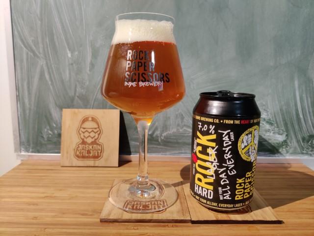 JaskanKaljat RPS Brewing Hard Rock Lager Olut Beer