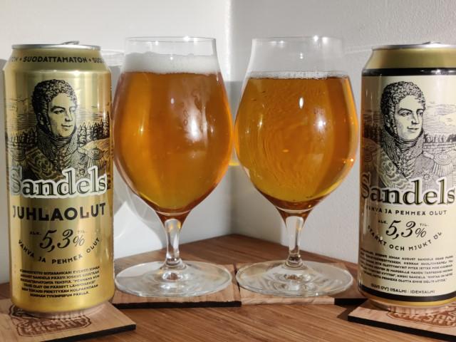 Jaskankaljat olvi sandels olut beer
